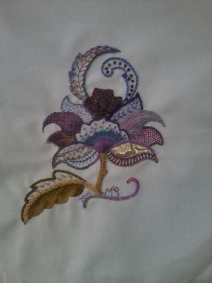 Mixed  medium  Jacobean  Embroider