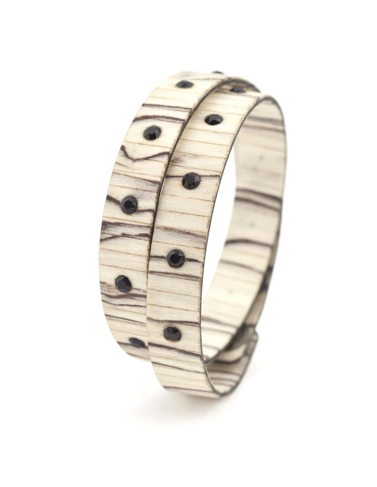 BAD CHIC BETULLA GHIACCIATA #bracelet #fashion #woodbracelet #wood #design #madeinitaly