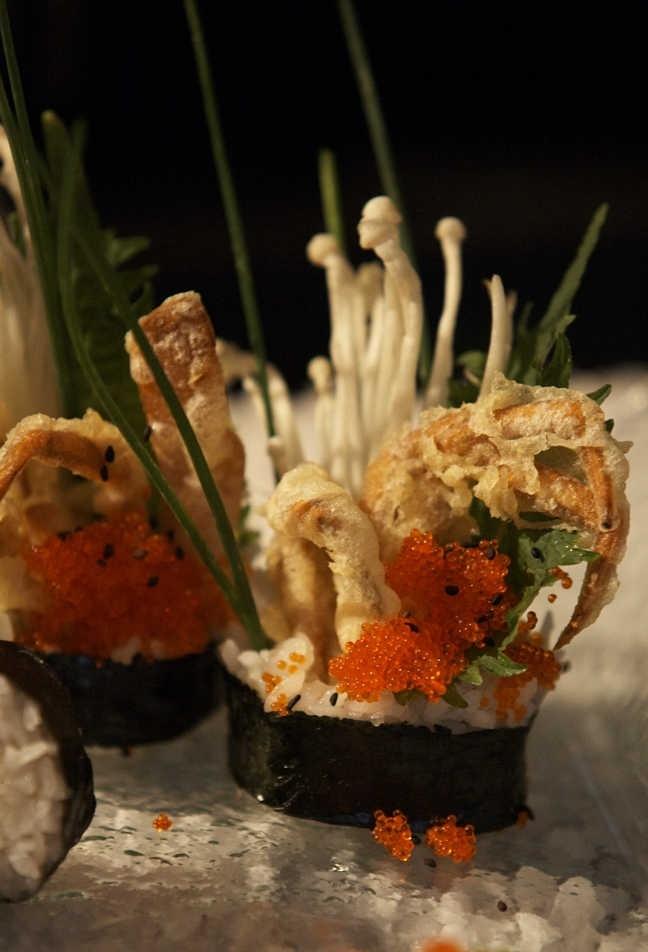 Sea You Up Restaurant delicacies.  Location: Halkidiki, Greece