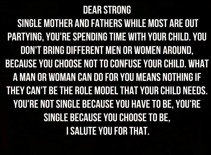 For all single parent... - single mother quotes - single mom