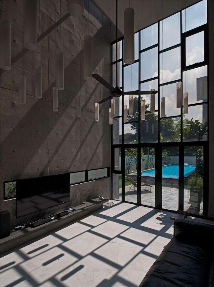 Concrete Residence in Maleisië door Seshan Design | HomeAdore