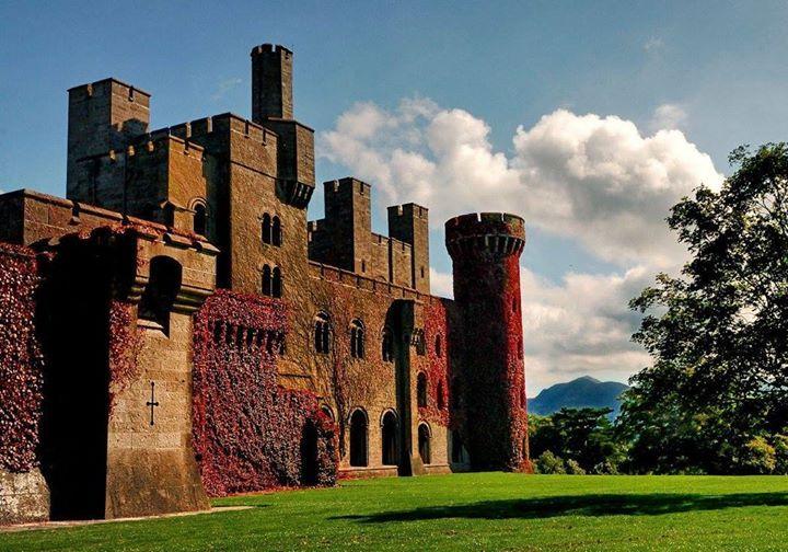 Penrhyn Castle, Llandygai, Bangor, Gwynedd, North Wales A Norman castle. It was originally a medieval fortified manor house, founded by Ednyfed Fychan.