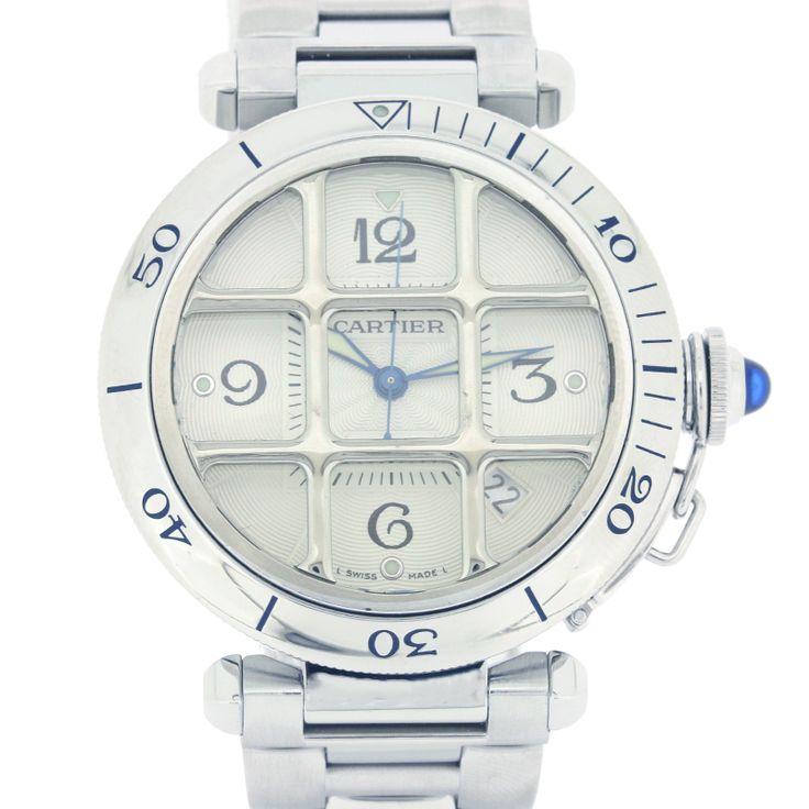【商品名】カルティエ(Cartier) 2379 W31040H3 パシャ SSAT メンズ ホワイト文字盤時計【価格】¥343,800【状態】A 多少の傷・汚れが見受けられますが全体的には綺麗な状態の中古商品です。