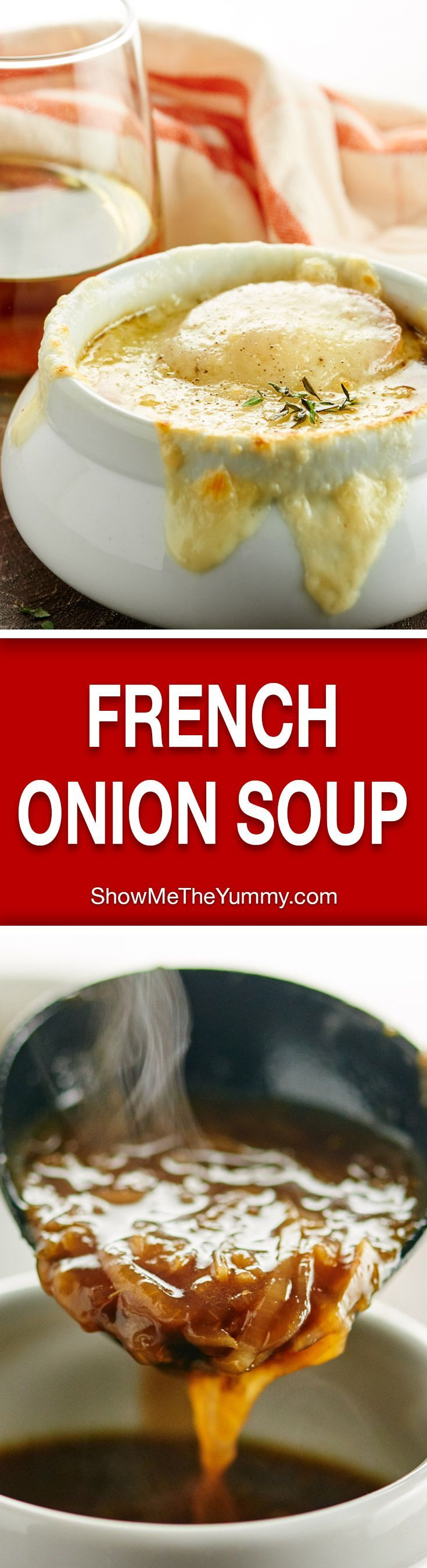 ... Soup Recipes on Pinterest | French Onion Soups, French Onion and Soups