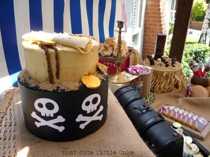 """""""Jake And The Neverland Pirates"""" 4th Birthday Party + Free Printables"""