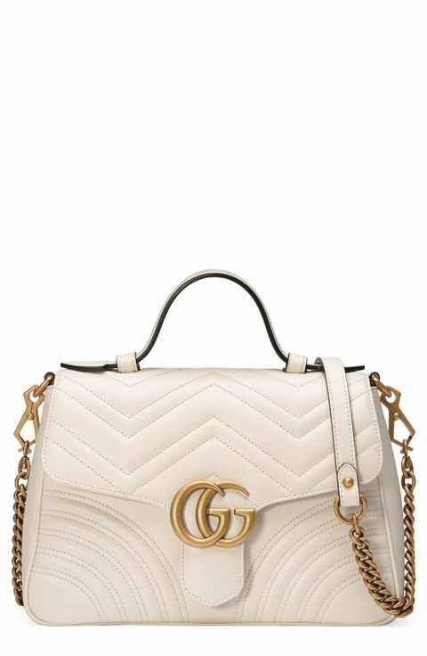 83c68b711401 Gucci Small GG Marmont 2.0 Matelassé Leather Top Handle Bag ...