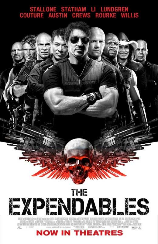 The Expendables - how the media such as films have influenced the people to bet fitter, or even use the gym.