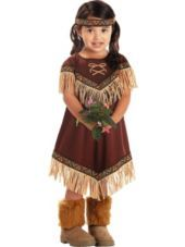 Lil Native American Princess Costume for Toddler Girls - Halloween City