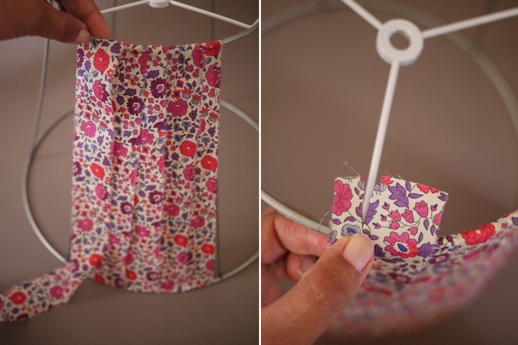diy lamp shade Hmmmm - so can I tear the old paper off shades and revamp what I have?