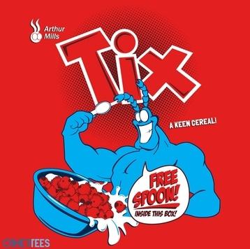 Tix Cereal.