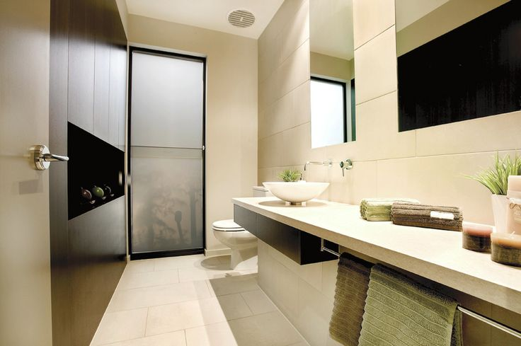 Bathroom, Design, modern, streamlined, white,  Constructed by Classic Projects