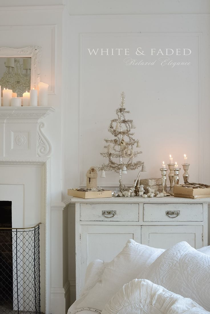 White & Faded vintage Christmas