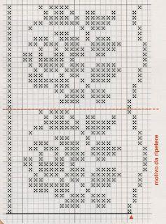 24 best bordure filet images on pinterest crochet for Bordi per lenzuola