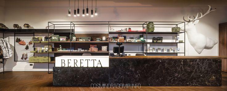 Un proiect realizat in colaborare cu Fabrica de Arhitectura. Lighting design for Beretta shop in Bucharest, Romania .