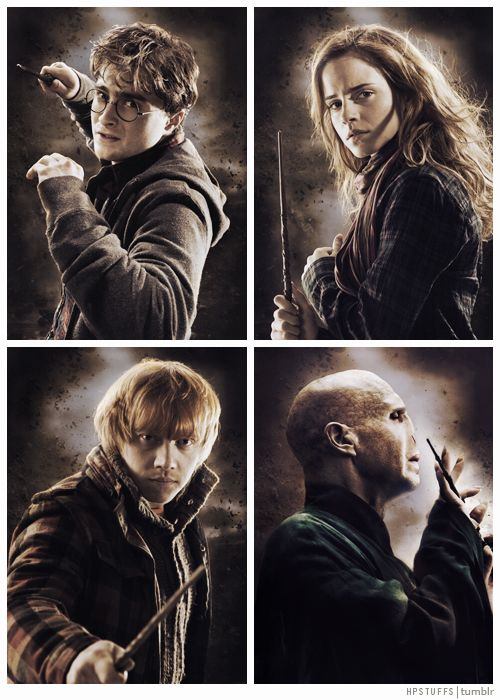 126 best images about harry potter posters and art on - Harry potter hermione granger ron weasley ...