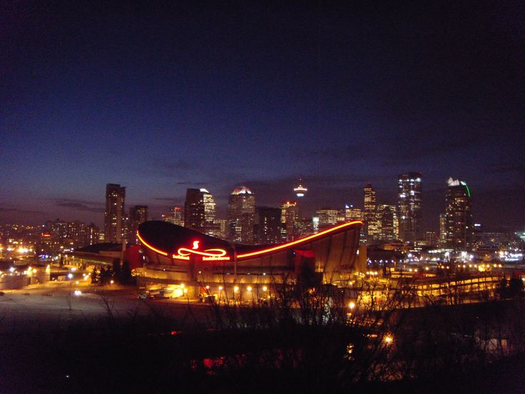 Saddle Dome (Calgary sky line)