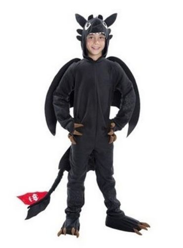 How-To-Train-Your-Dragon-2-TOOTHLESS-Night-Fury-COSTUME-Child-Size-MEDIUM-8-10