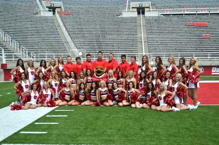 University of Utah cheer and dance 2013-14!!