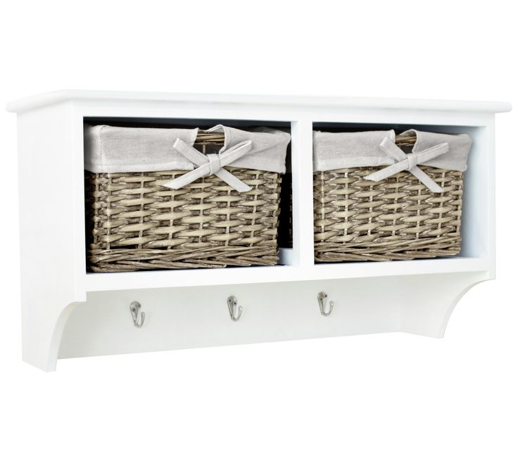 £44.99 Buy Collection New Malvern 2 Basket Storage Unit - White at Argos.co.uk, visit Argos.co.uk to shop online for Storage baskets and boxes, Storage, Home and garden