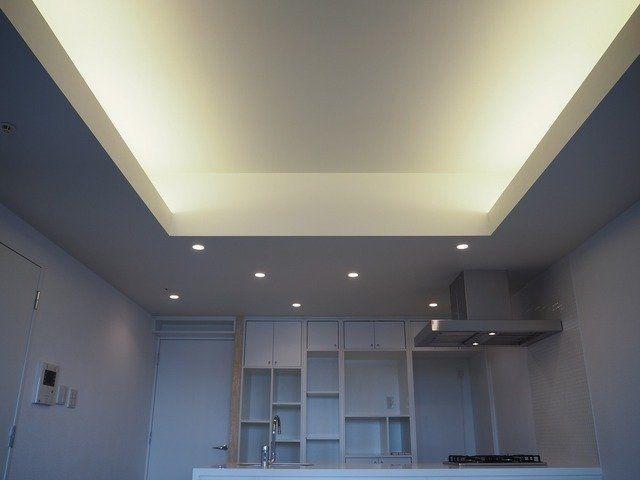 ウッドデッキで1杯 1405号室 東京都新宿区 間接照明 照明 デザイン