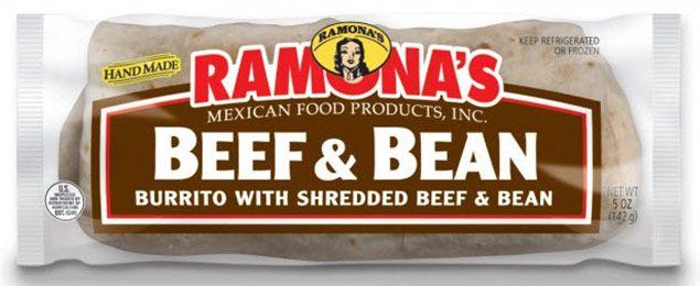 Frozen Burritos   Ramona's