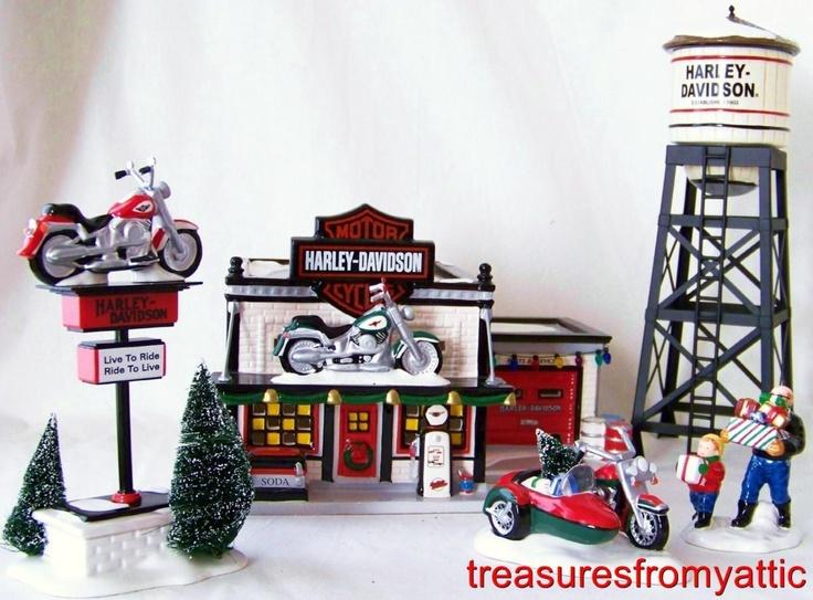 30 best Harley Davidson Village images on Pinterest | Christmas ...