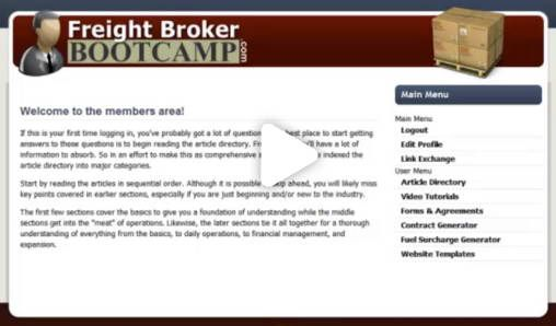 Freight Broker & Freight Agent Online Training Program How To Become A Freight Broker -  Learn from a real freight broker that  does over $2 million a month in sales. Start training online for under $98. #BecomeFreightBroker, #FreightAgent, #FreightBroker, #FreightBrokerAgent, #FreightBrokerBootCamp, #FreightBrokerBootcamp, #FreightBrokerProfits, #FreightBrokerProfitsReview, #FreightBrokerTraining, #FreightTraining, #HowToBeAFreightBroker, #HowToBeATruckBroker, #TruckBroker
