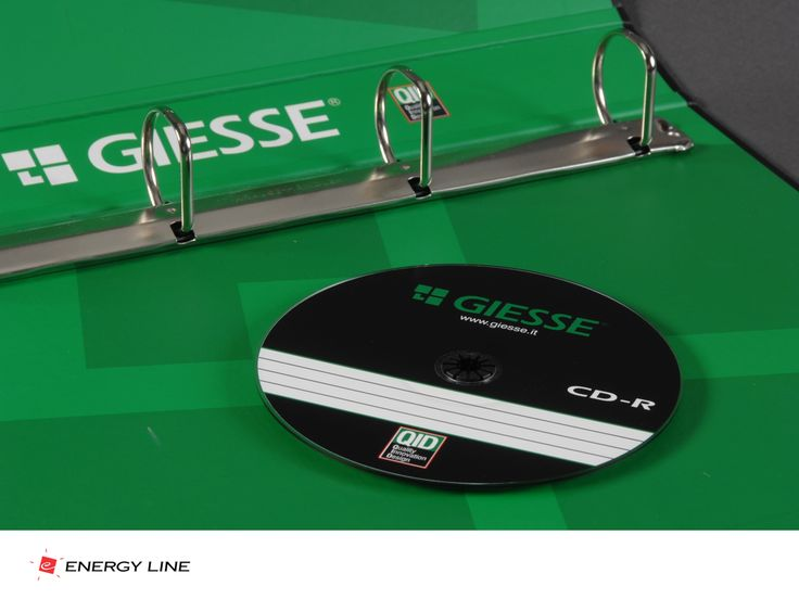 GIESSE GROUP, Folder & CD label design