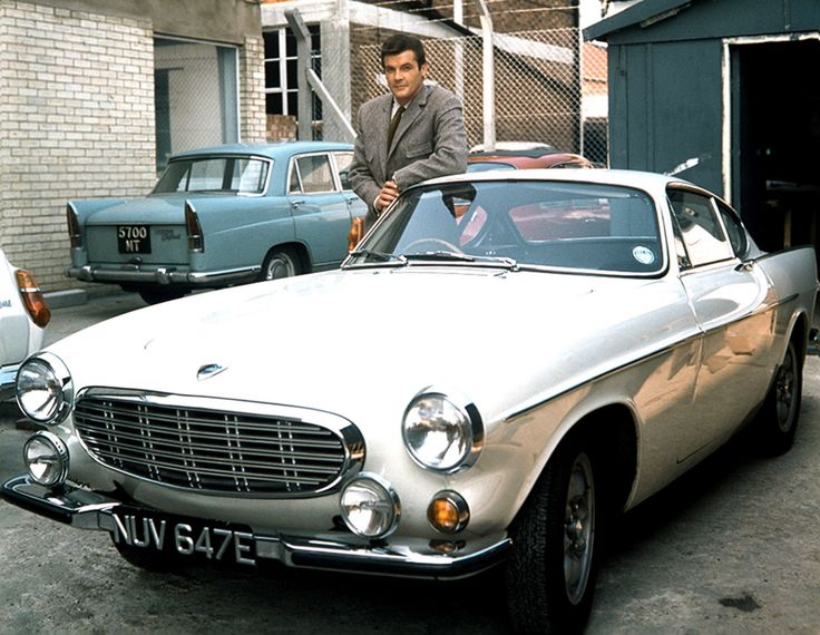 roger moore - volvo p1800