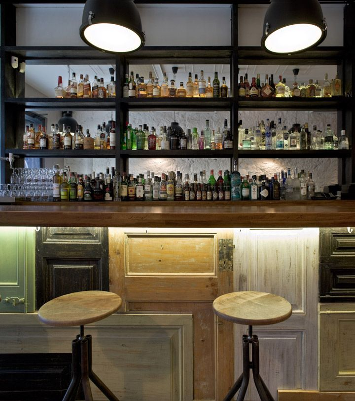 Bobby Gin cocktail bar by Normal store design