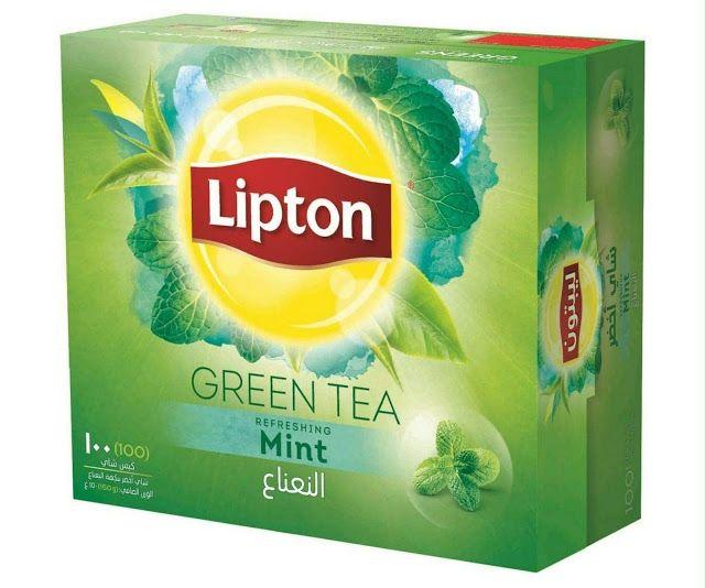 ليبتون شاي أخضر بالنعناع للبيع على الأنترنيت في السعودية بيع على الأنترنيت في الإمارات Lipton Green Tea Green Tea Mint Tea