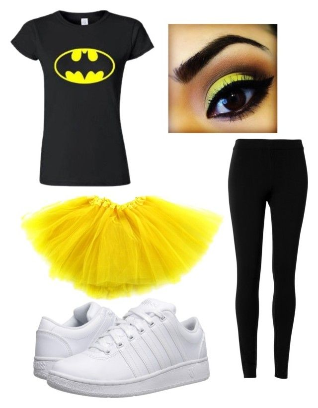 """Batgirl Halloween Costume"" by kitkat308 on Polyvore featuring K-Swiss and Max Studio"