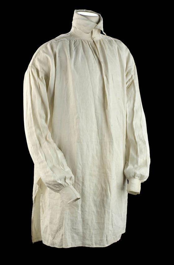 Fashioning Beau Brummell: 1807 Shirt