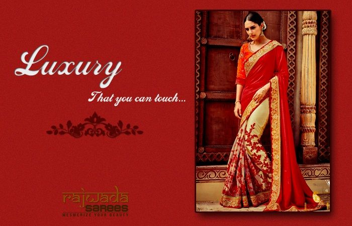 Every girl and ladies wants to look perfect and most beautiful on special occasion and when it comes to Indian style of dressing then saree is one dress that looks stunning and stylish at the same time.We at Rajwada Sarees will help you to find your outfit.