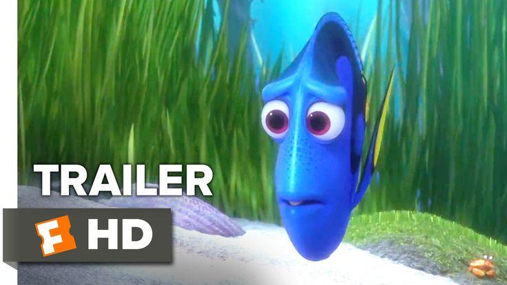 Finding Dory Official Trailer #2 (2016) - Ellen DeGeneres, Albert Brooks...