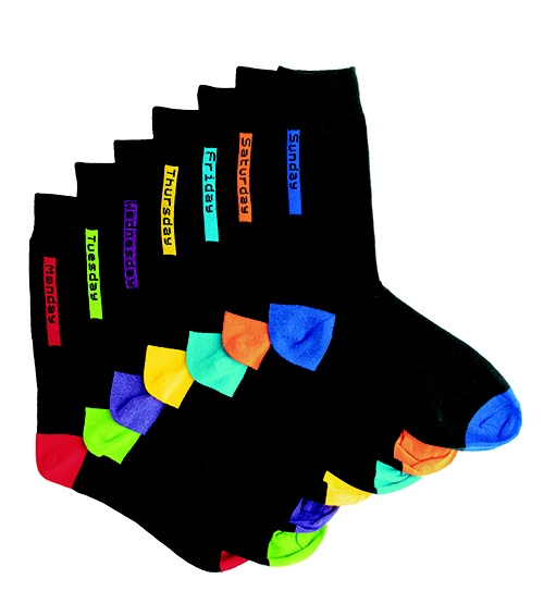 7-pack multi socks - Edgars Father's Day - who doesn't ALWAYS need socks???