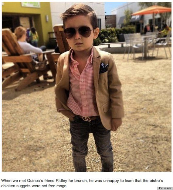 well dressed toddler....we had nothing to do with this!