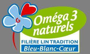 """Le logo """"bleu blanc coeur"""" : riche en Oméga 3 - Guérir ses intestins, colon irritable, SIBO, candidose"""