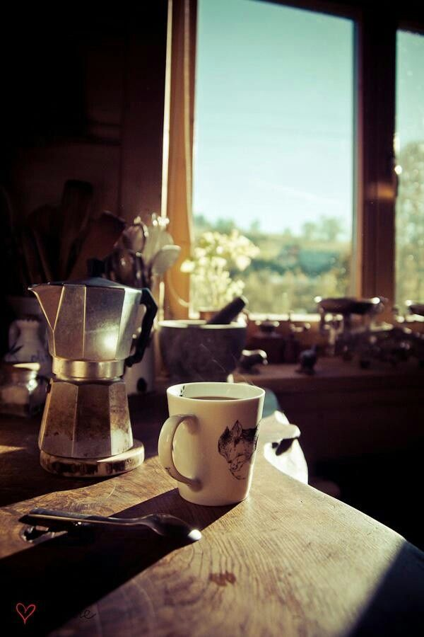 Caffee and sunshine
