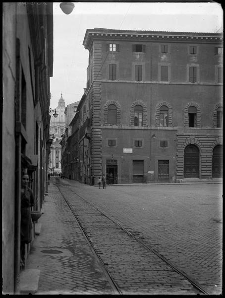 Borgo Vecchio nel 1930