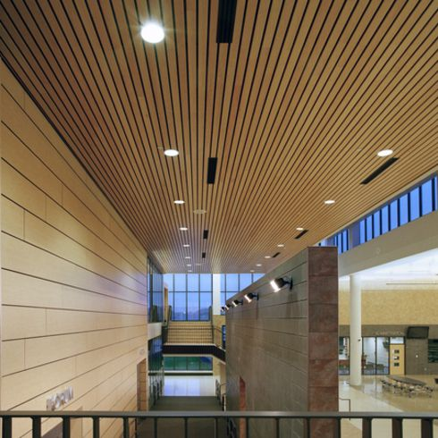 Metal Ceilings - Woodwright Box Series Interior / Hunter Douglas Contract