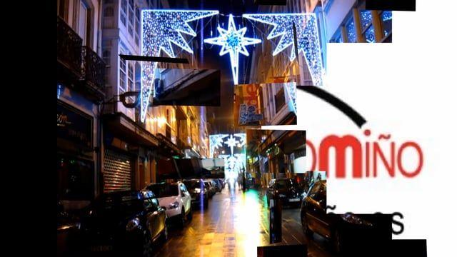 www.electromiño.es  Arcos de iluminación artística de estrellas de navidad. Electromiño  #electromiño #CiudadesNavidad #Vigo #Galicia #Navidad #Alumbrado #AlumbradoNavidad #EncendidoLuces #NavidadenlaCiudad #Leds #led #navidades #estrella #arcosdeluz