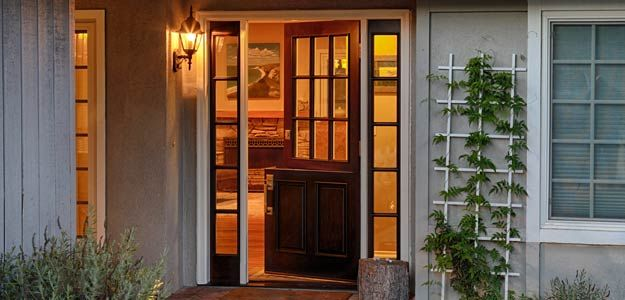 1000 ideas about entry door with sidelights on pinterest - Jeld wen exterior doors with sidelights ...
