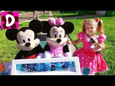 День Рождения МИННИ МАУС Приехали Гости Микки Маус и Mинни Minnie's Bow Toons Toys Видео для Детей    {{AutoHashTags}}