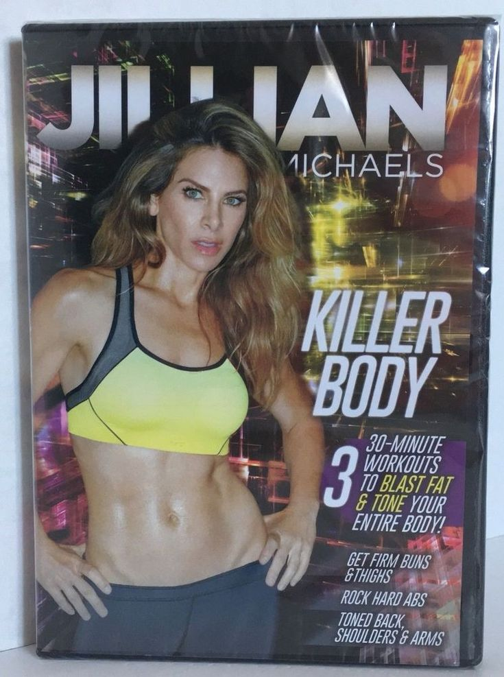 NEW Jillian Michaels KILLER BODY sealed DVD #JillianMichaels
