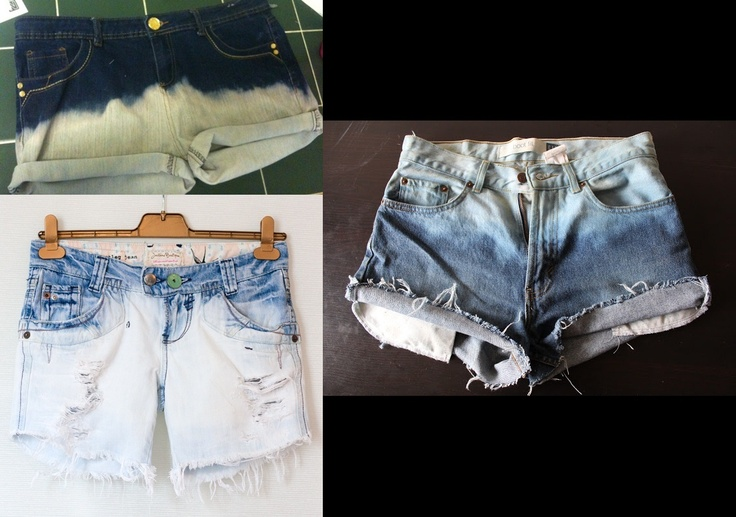 Fade Ombre Shorts. IDR 60,000 only. +6,000 for studs. +10,000 untuk selutut (max.46cm)