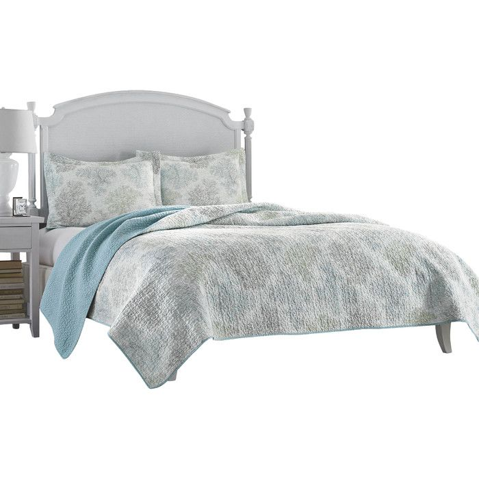 youu0027ll love the saltwater coverlet set at wayfair great deals on all bed