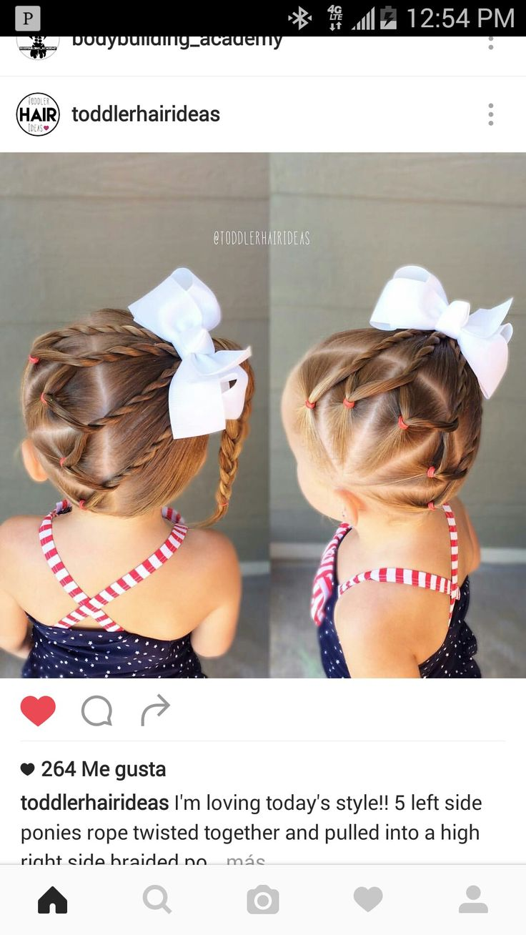 best hair do for my girls images on pinterest kid hairstyles