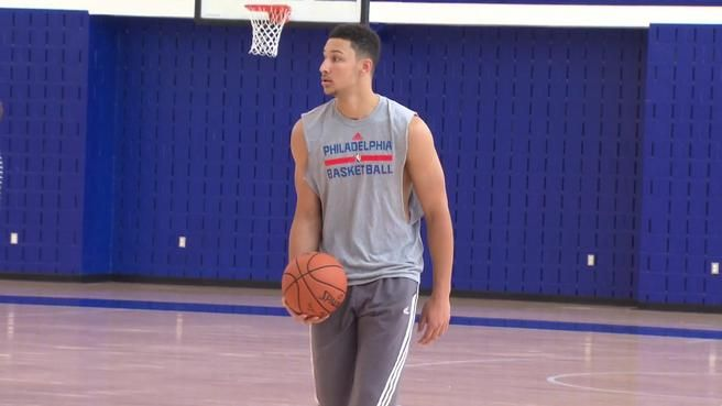 Ben Simmons preparing for roles as point guard, leader with Sixers