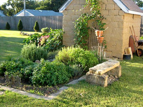 Backyard Herb Garden Ideas homedepot 050 A Small Herb Garden Is Really Easier Than You Think Its Worth It Because Freshly